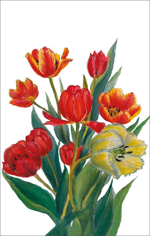 Открытка поздравительная в винтажном стиле Darinchi №365D7/1063Поздравительная открытка