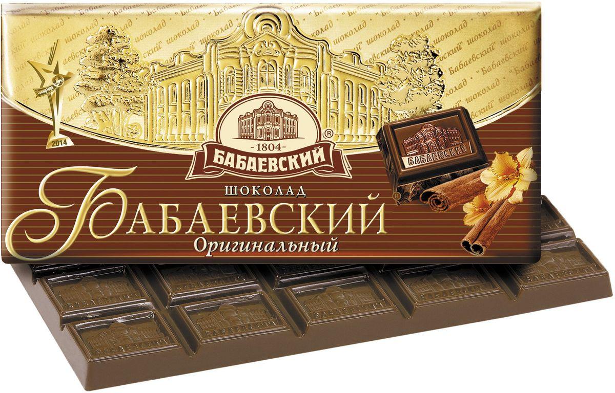 Бабаевский оригинальный темный шоколад, 100 г бабаевский оригинальный темный шоколад 100 г
