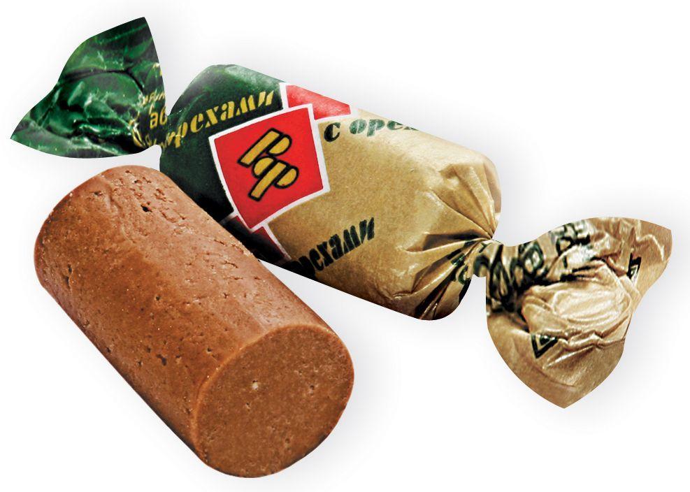 Рот-Фронт Батончики из пралине и хрустящих дробленых вафель с орехами, 250 гРФ05481Знаменитые московские конфеты напоминают вкус детства!