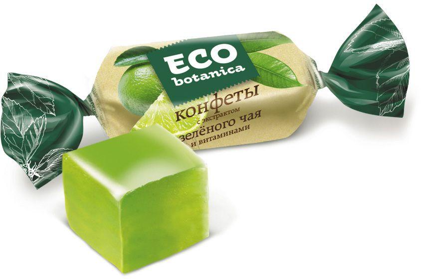 Рот-Фронт Eco-botanica конфеты желейные с экстрактом зеленого чая и витаминами, 200 г галеты eco botanica с гречневой мукой 160г