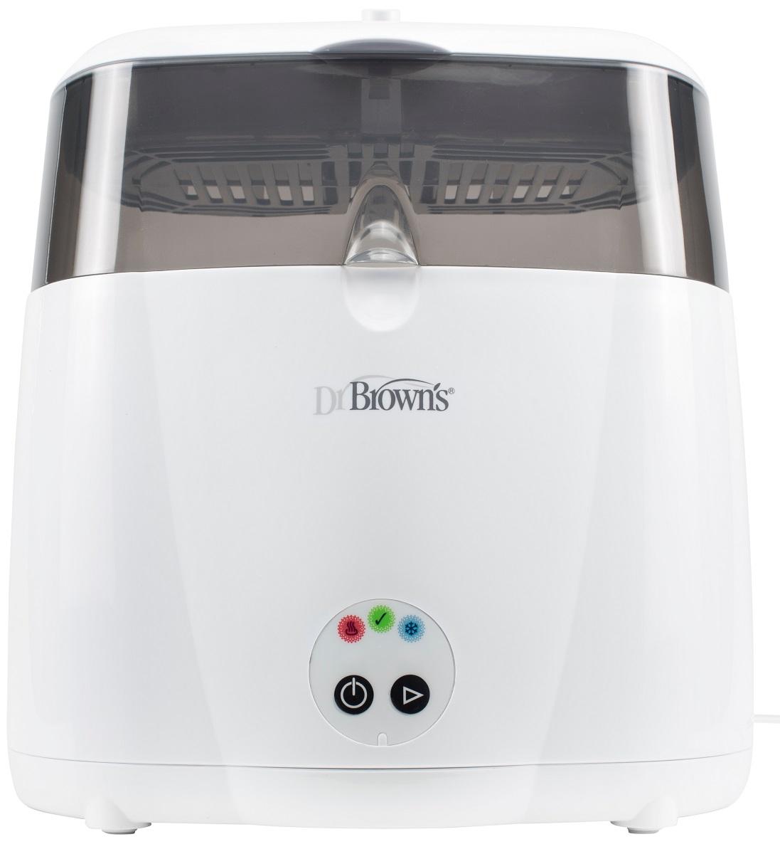 Dr.Brown's Электрический паровой стерилизатор цвет белый серый - Все для детского кормления