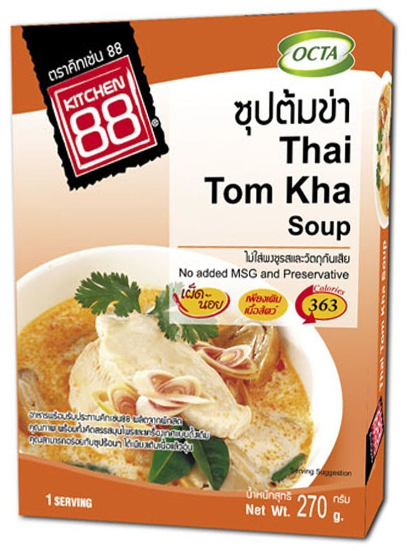 Kitchen88 Тайский кокосовый суп, 270 г суп том кха