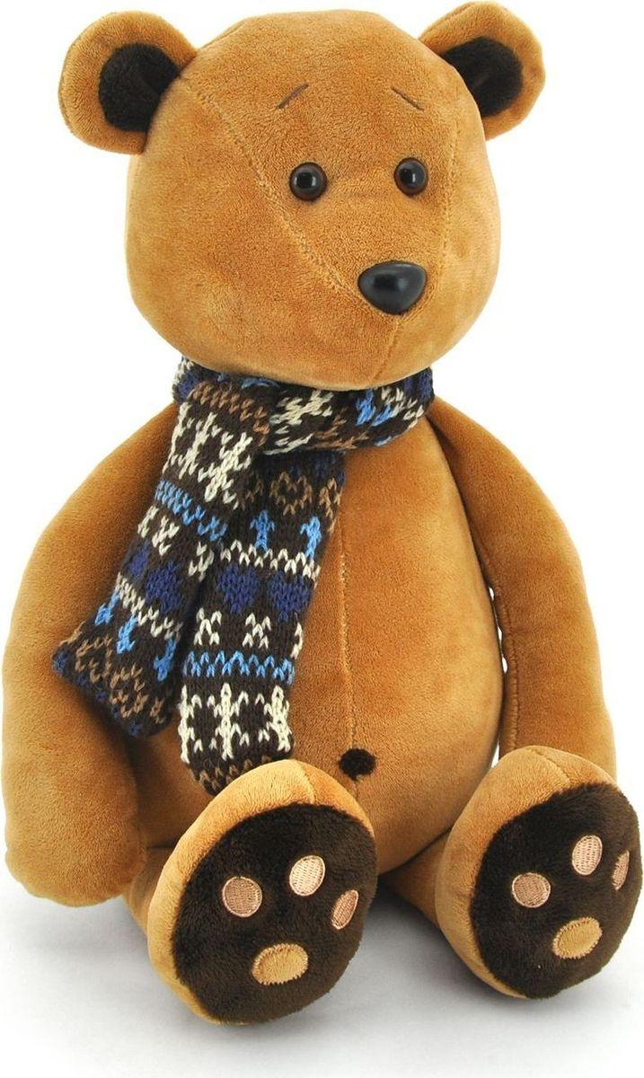 где купить Sima-land Мягкая игрушка Медвежонок Медок в шарфике 30 см по лучшей цене
