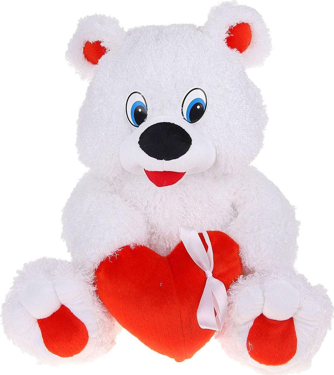 Sima-land Мягкая игрушка Медвежонок Романтик 52 см малышарики мягкая игрушка собака бассет хаунд 23 см