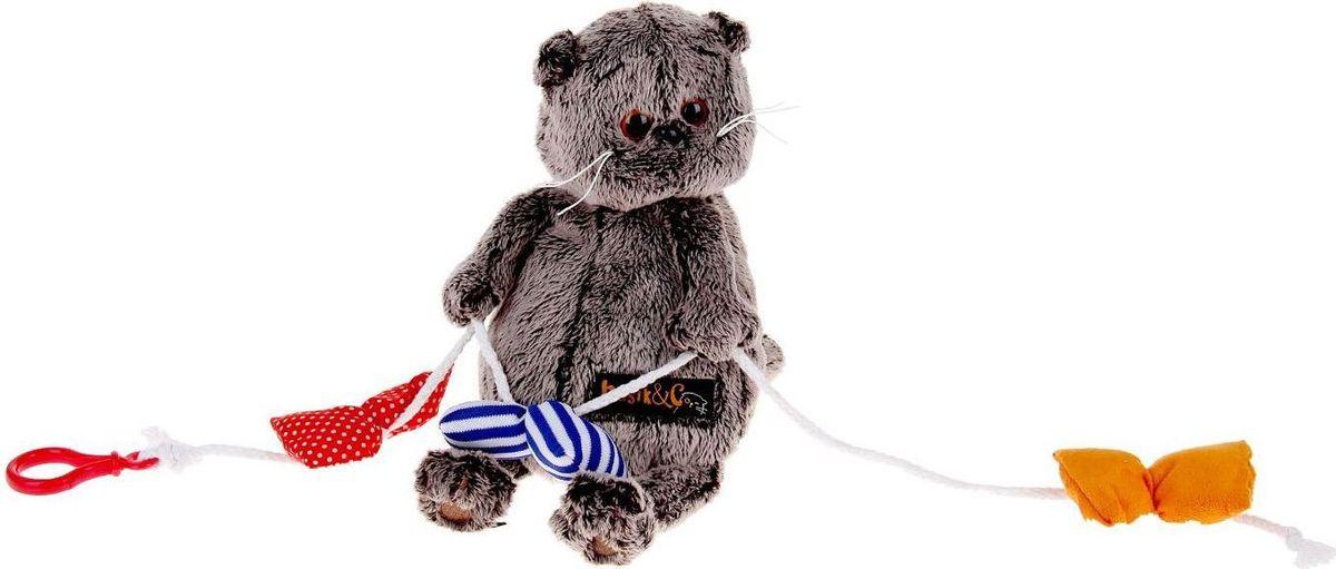 Басик и Ко Мягкая игрушка Басик и канат 19 см basik & ко мягкая игрушка басик в дафлкоте 22 см