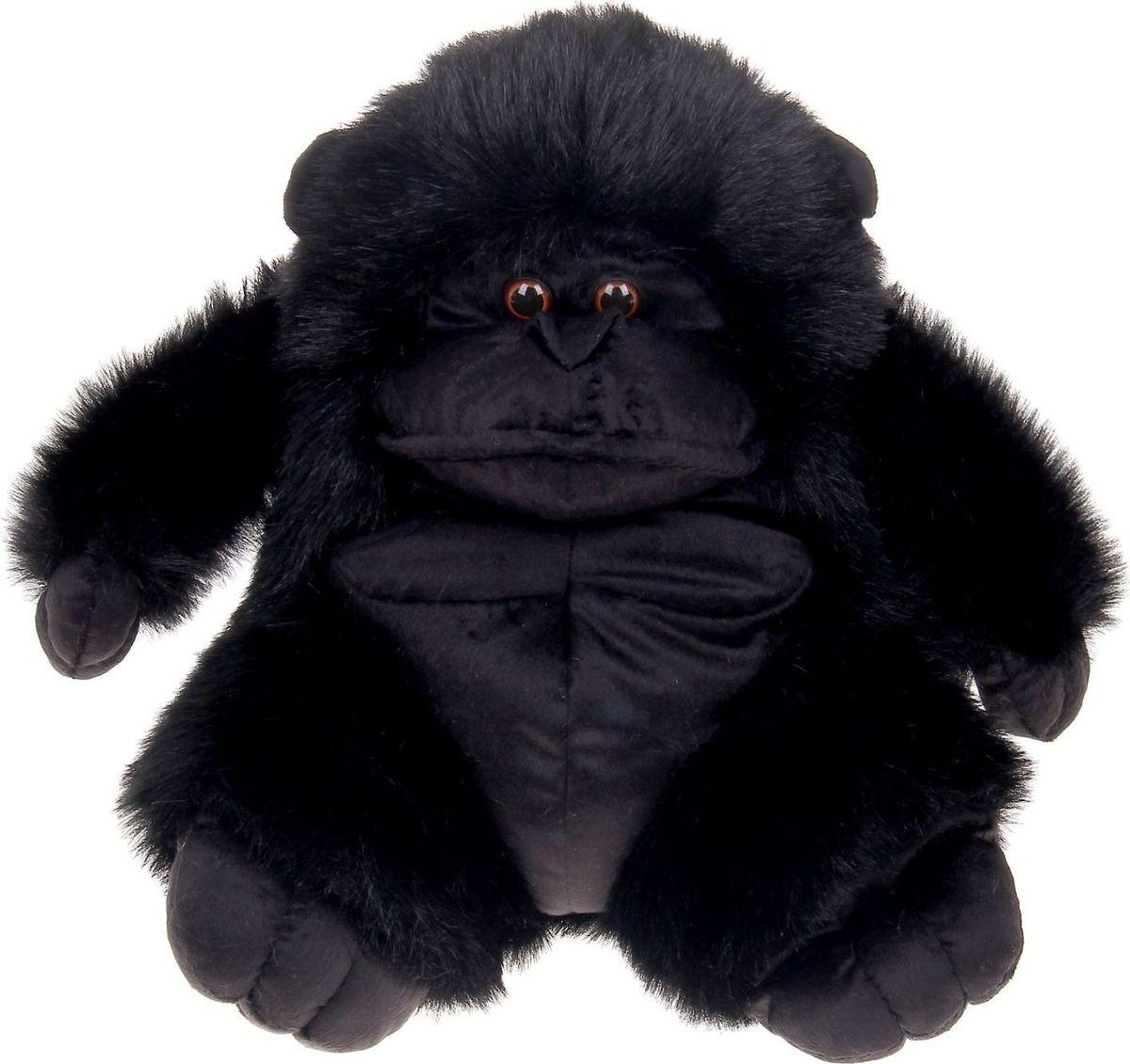 Sima-land Мягкая игрушка Горилла черная 36 см