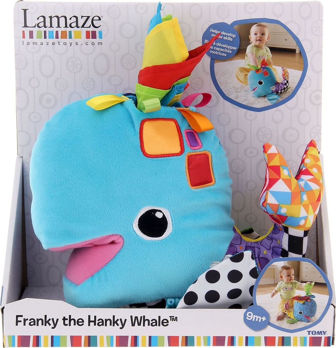 Tomy Lamaze Развивающая игрушка Китенок Фрэнки tomy с погрузчиком