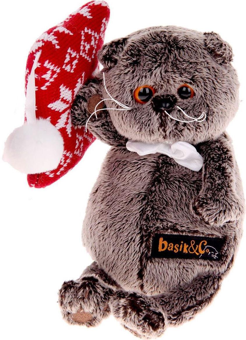 Basik & Ко Мягкая игрушка Басик на подушке 18 см пальто басик
