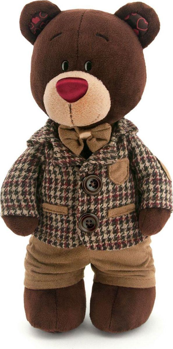 Orange Toys Мягкая игрушка Choco стоячий в клетчатом пиджаке 35 см teddy мягкая игрушка собака в голубом пиджаке 18 см