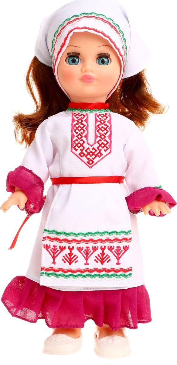 Sima-land Кукла озвученная Элла в марийском костюме куклы и одежда для кукол весна кукла элла 2 озвученная 35 см