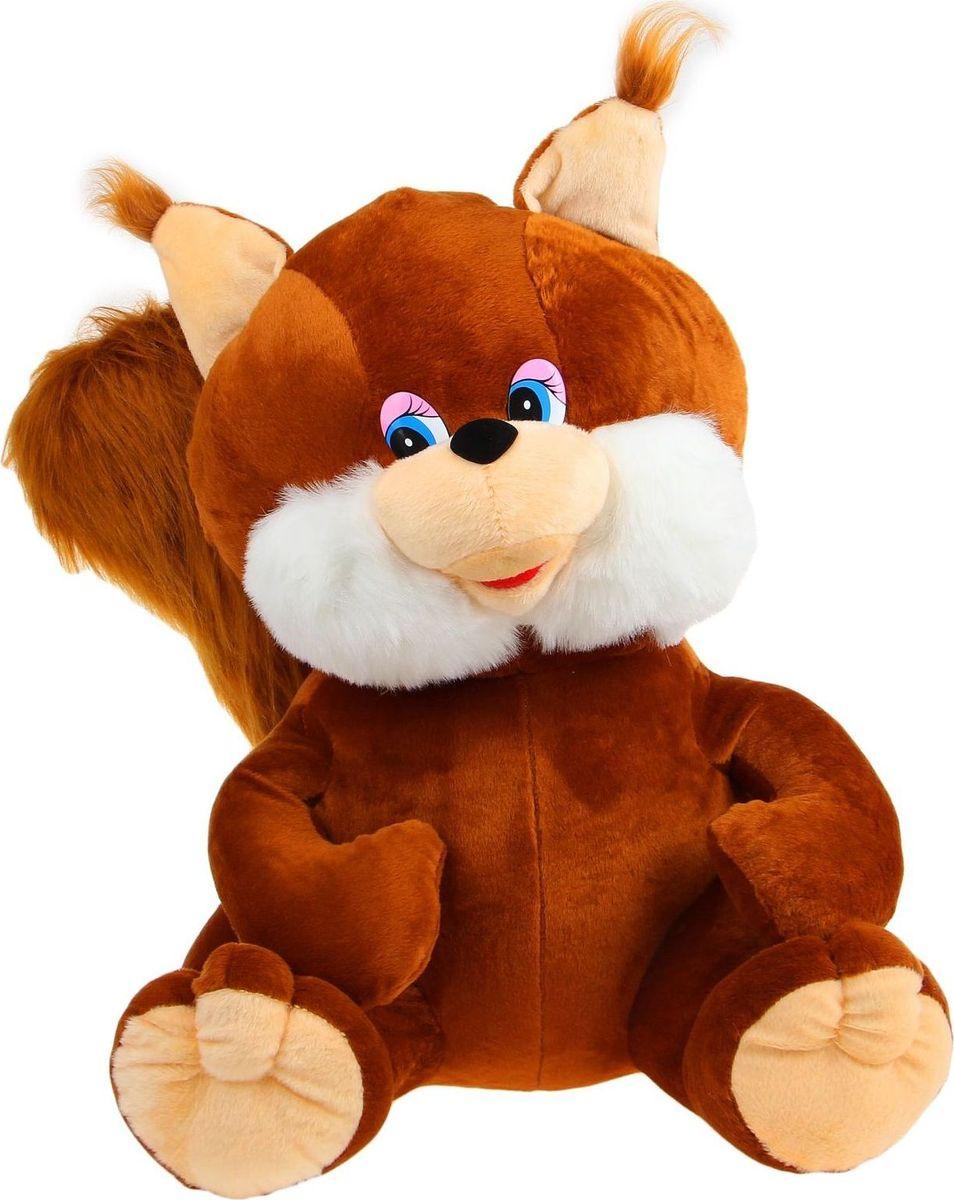 Sima-land Мягкая игрушка Белка цвет коричневый 70 см sima land