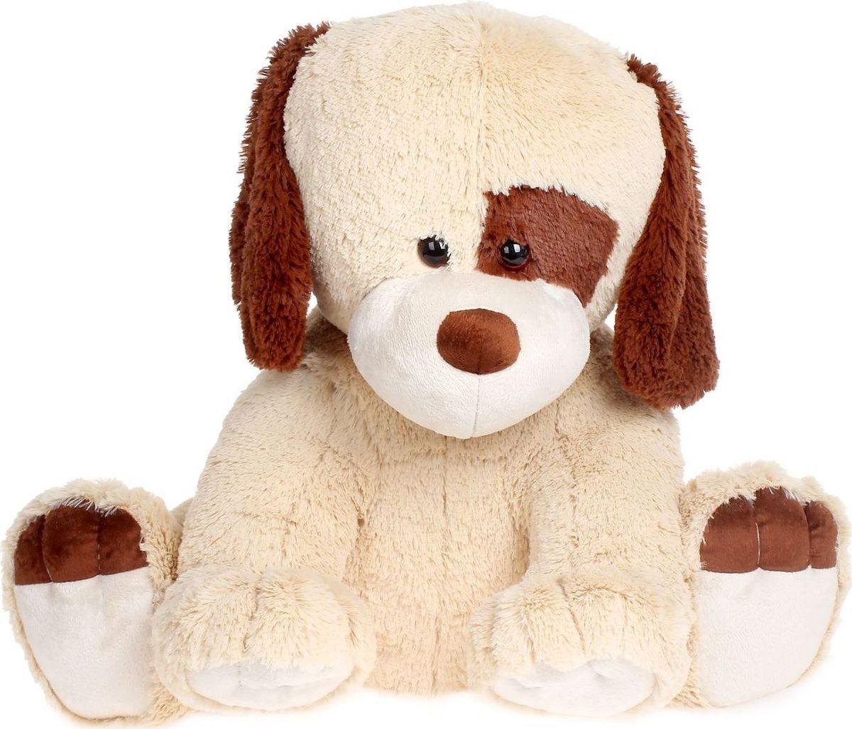 Sima-land Мягкая игрушка Собака Джек цвет бежевый 60 см малышарики мягкая игрушка собака бассет хаунд 23 см