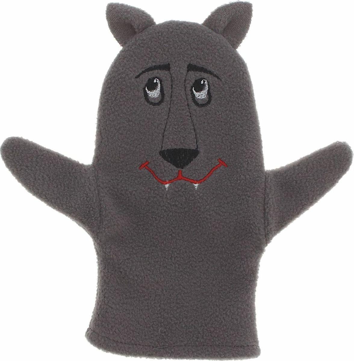 Sima-land Игрушка на руку Волк sima land кукла на руку волк