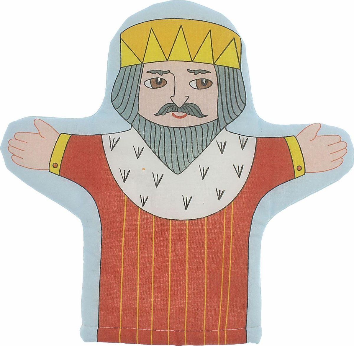 Sima-land Игрушка на руку Царь sima land кукла на руку волк