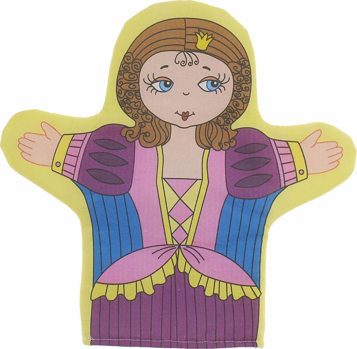Sima-land Игрушка на руку Принцесса кармашки на стену sima land люблю школу цвет красный желтый коричневый 5 шт