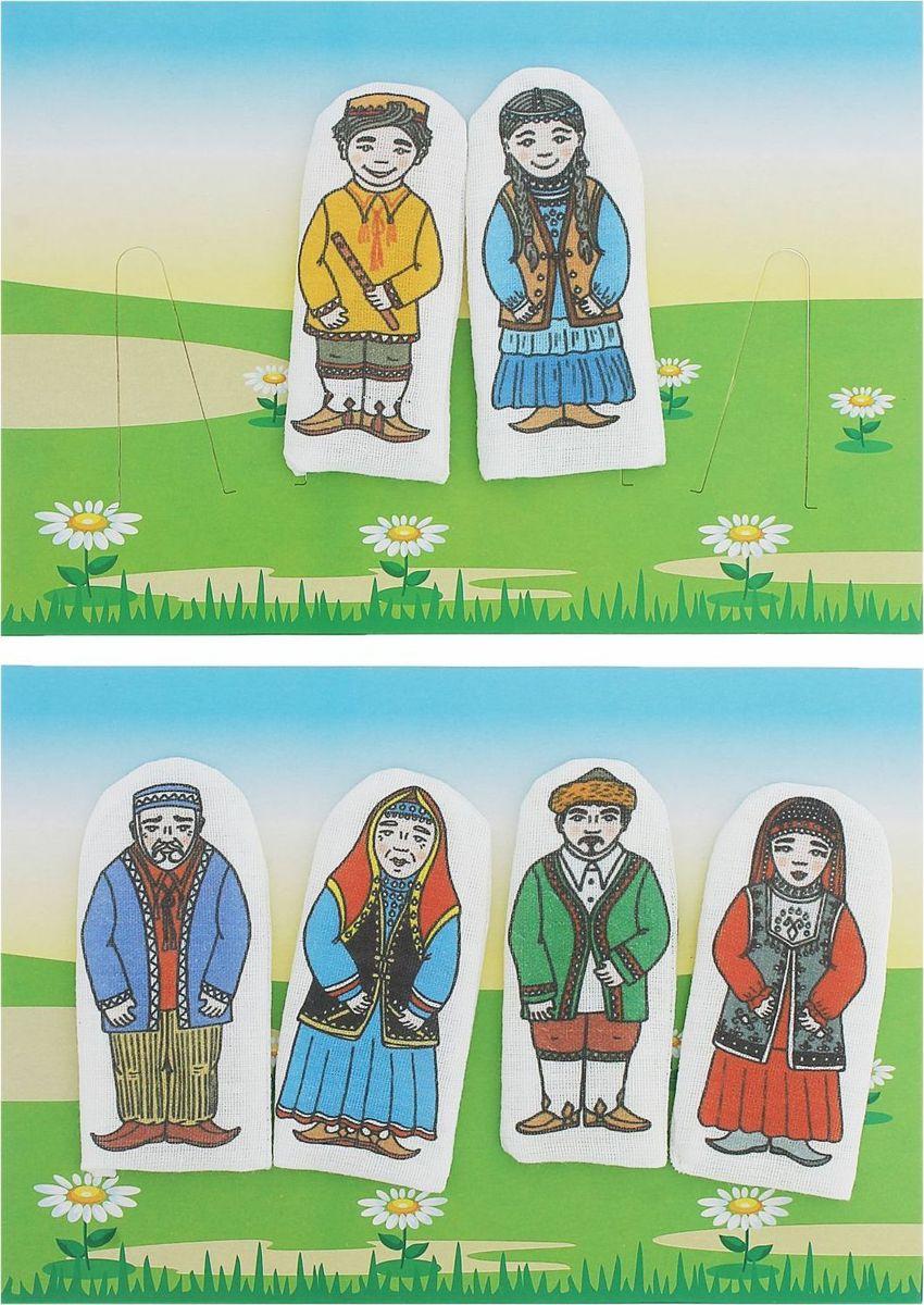 Sima-land Набор пальчиковых кукол Семья башкирская sima land