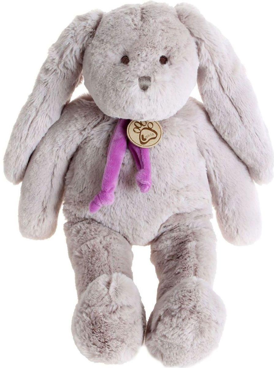 Sima-land Мягкая игрушка Заяц цвет серый 40 см мягкая игрушка заяц с длинными ушами