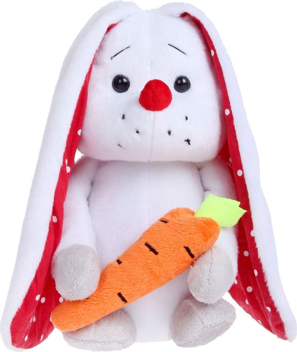 Sima-land Мягкая игрушка Зая с морковкой 28 см малышарики мягкая игрушка собака бассет хаунд 23 см