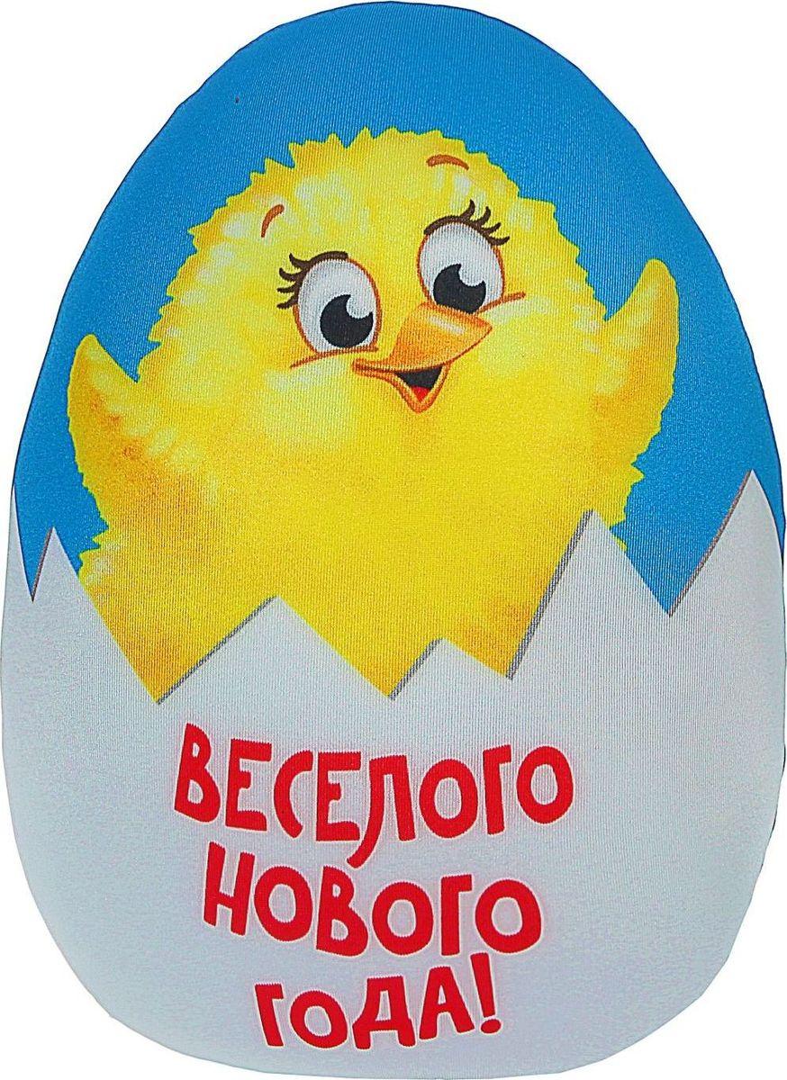 Sima-land Антистрессовая игрушка Веселого Нового года Цыпленок sima land антистрессовая игрушка заяц лаки 02