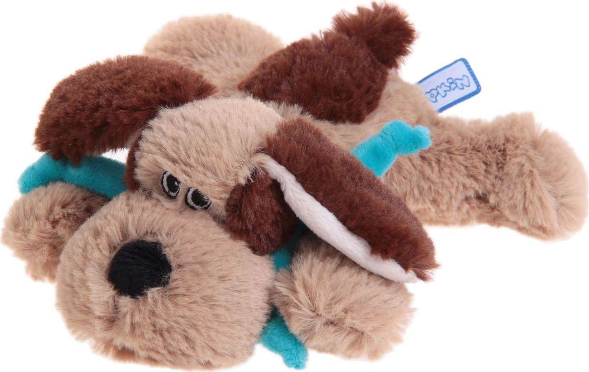 Sima-land Мягкая игрушка Собака цвет светло-коричневый коричневый 15 см малышарики мягкая игрушка собака бассет хаунд 23 см