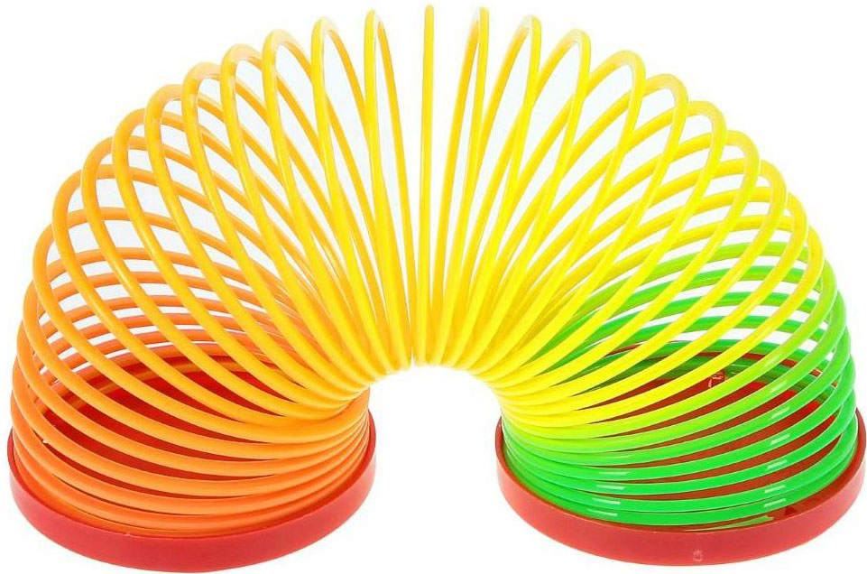 Sima-land Антистрессовая игрушка Спираль-радуга Улыбайся sima land антистрессовая игрушка заяц хрустик 04 цвет желтый