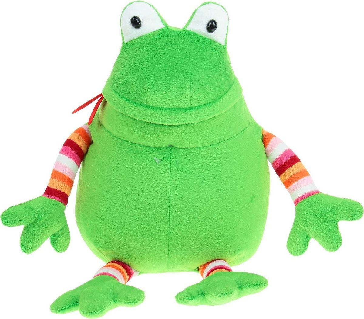 Sima-land Мягкая игрушка Лягушка Мажор 35 см - Мягкие игрушки