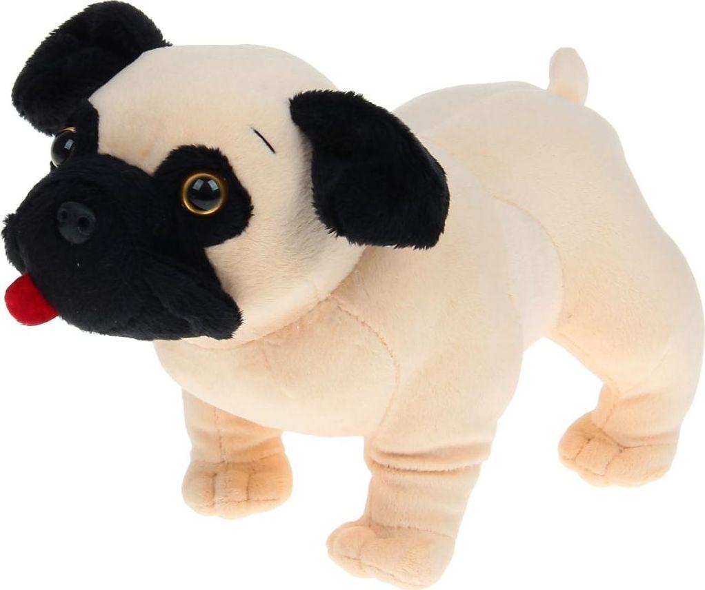Sima-land Мягкая игрушка Собачка Мопс 15 см малышарики мягкая игрушка собачка 25 см