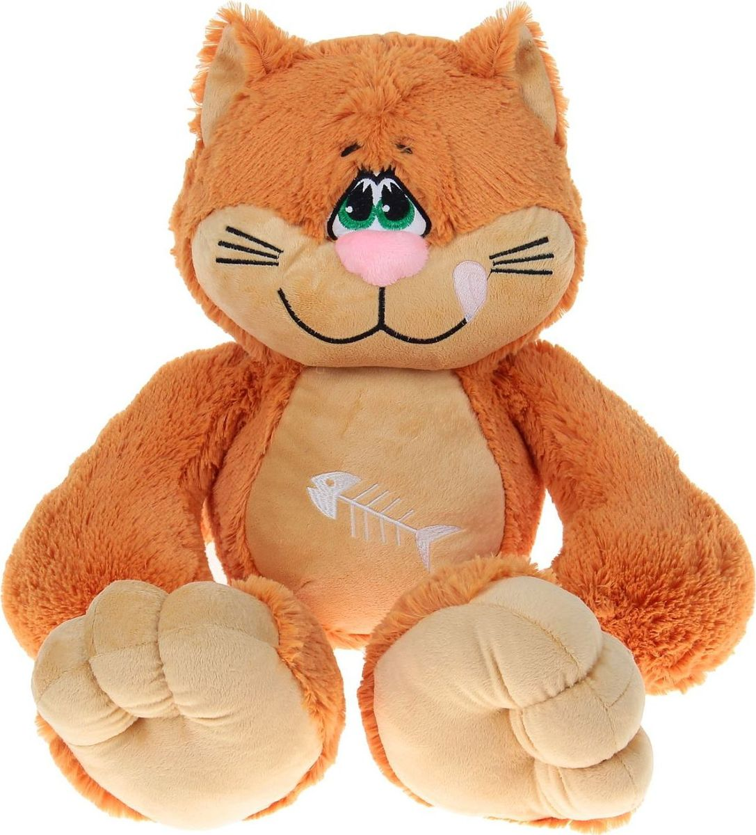 Sima-land Мягкая игрушка Кот Васька 80 см sima land мягкая игрушка лисенок рыжик 60 см
