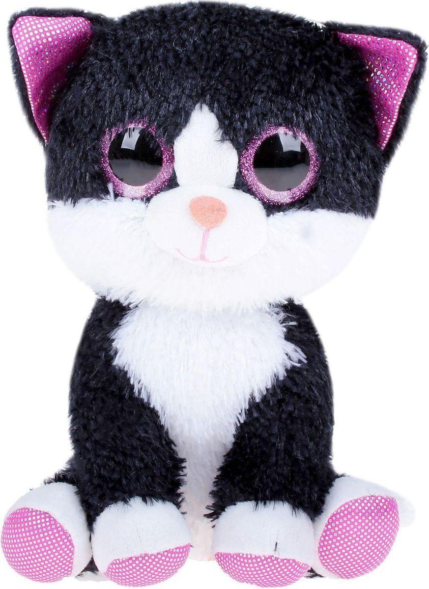 Sima-land Мягкая игрушка Котик Глазастик 22 см fancy мягкая игрушка собака эля 14 5 см