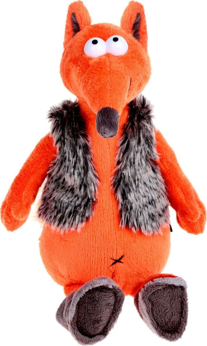 MaxiToys Мягкая игрушка Хитрый Лис & Valeki 26 см gulliver мягкая игрушка лис фокси 38 см