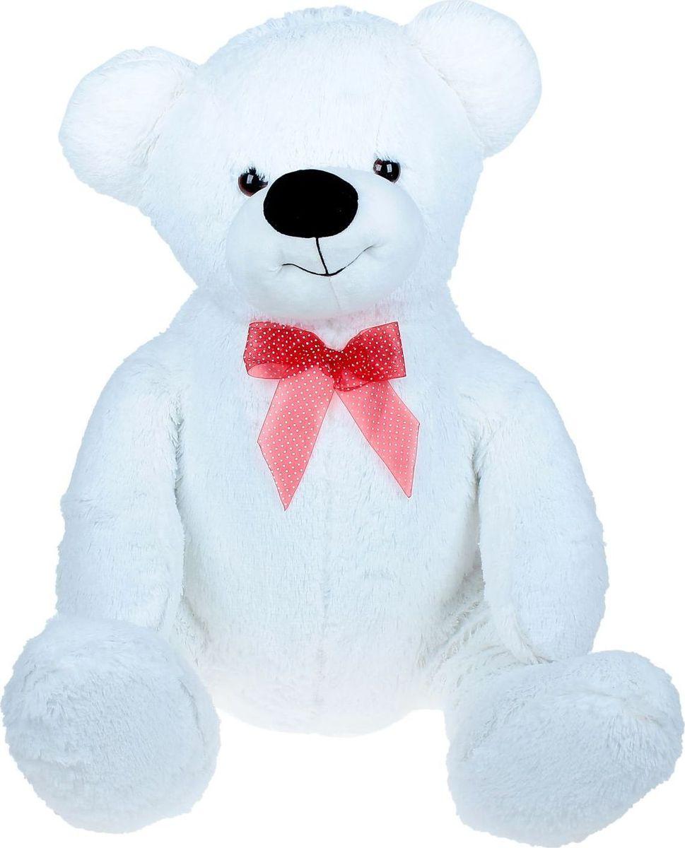 Sima-land Мягкая игрушка Медведь игольчатый цвет белый 80 см кармашки на стену sima land люблю школу цвет красный желтый коричневый 5 шт