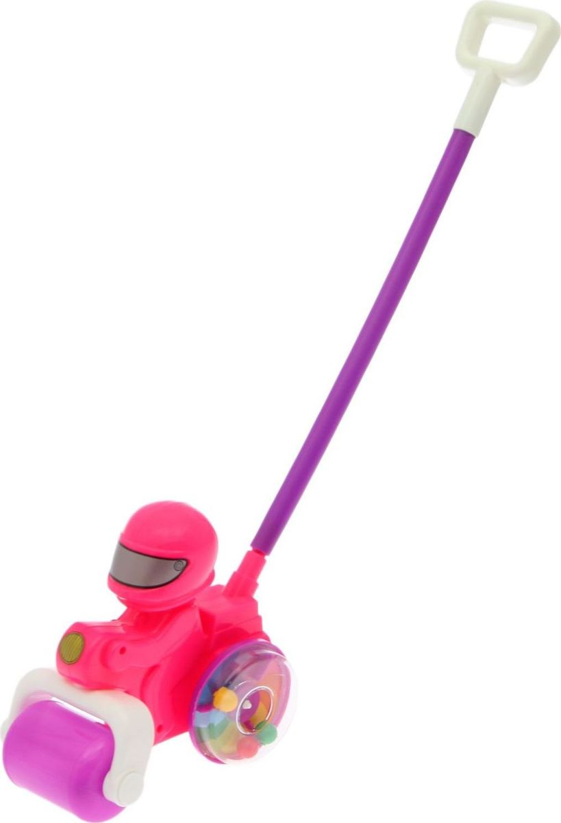 Пластмастер Игрушка-каталка Мотоцикл Комета мягкая каталка