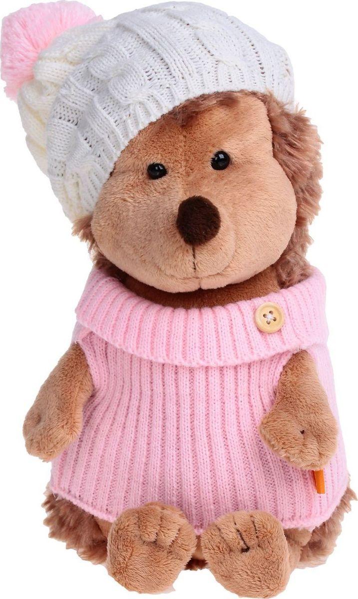 Orange Toys Мягкая игрушка Ежинка в шапке с розовым помпоном 26 см малышарики мягкая игрушка собака бассет хаунд 23 см