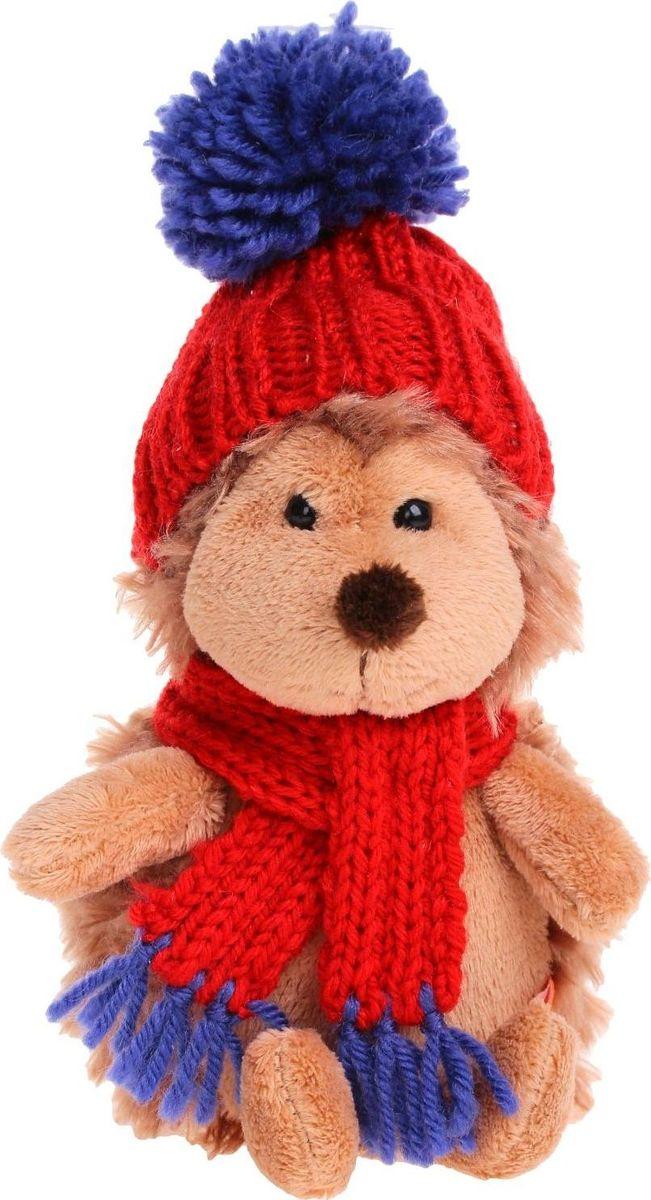 Orange Toys Мягкая игрушка Ежик Колюнчик в красной шапке 15 см малышарики мягкая игрушка собака бассет хаунд 23 см