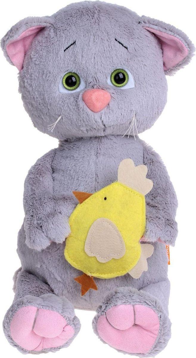 Sima-land Мягкая игрушка Котенок Мяу 30 см малышарики мягкая игрушка собака бассет хаунд 23 см