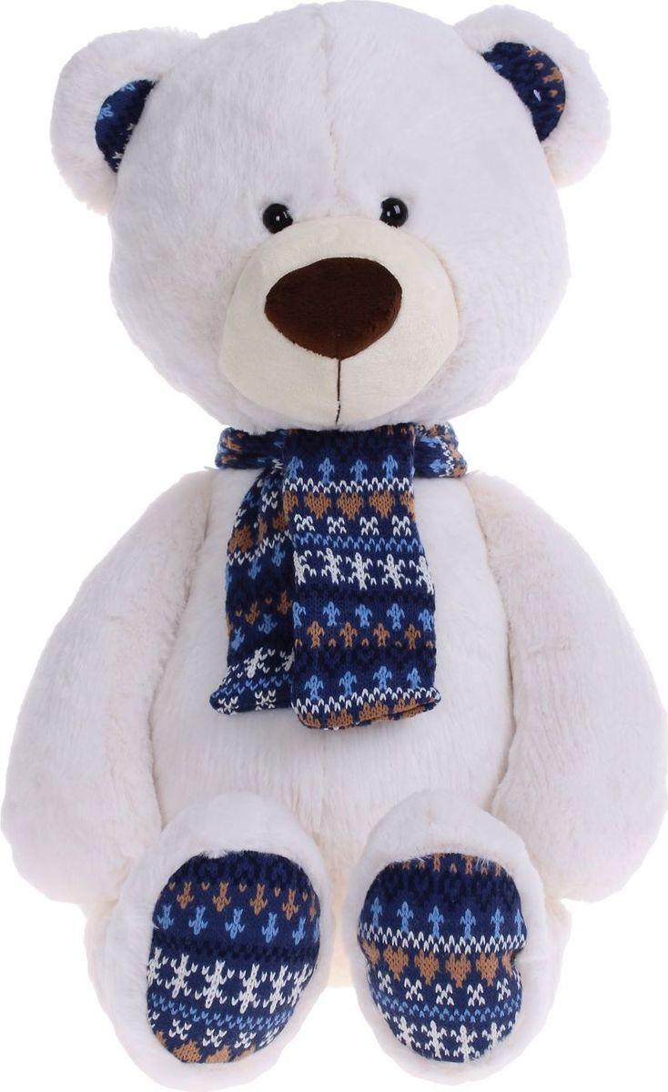 Sima-land Мягкая игрушка Медведь Снежок 50 см sima land мягкая игрушка лисенок рыжик 60 см