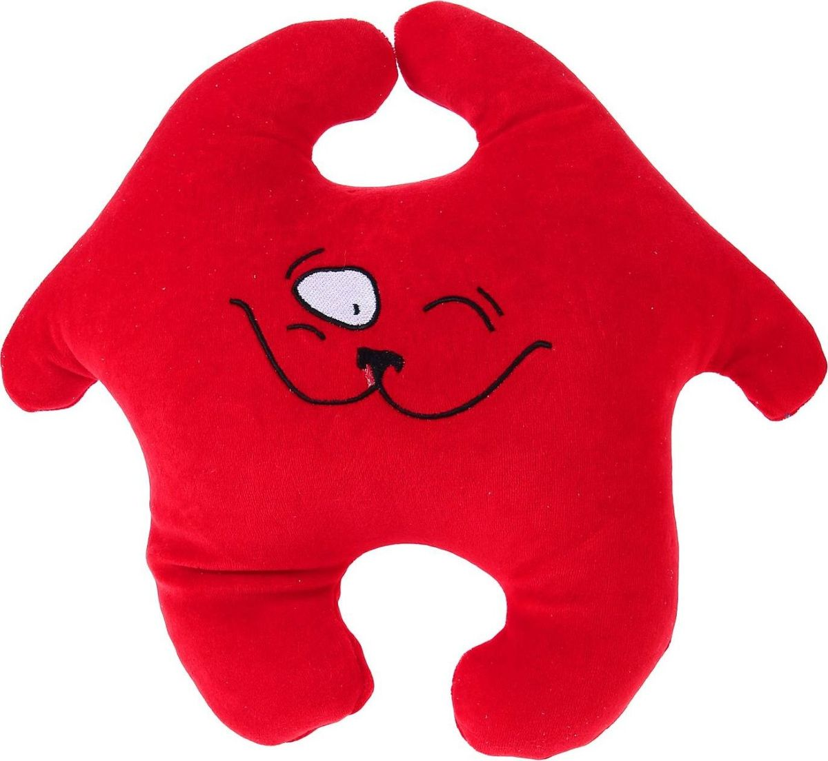 Sima-land Антистрессовая игрушка Заяц Хрустик 05 цвет красный