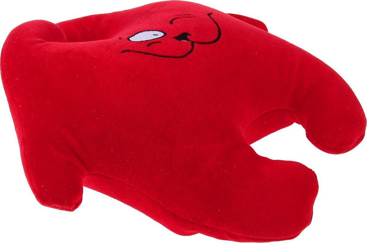 Sima-landАнтистрессовая игрушка Заяц Хрустик 05 цвет красный