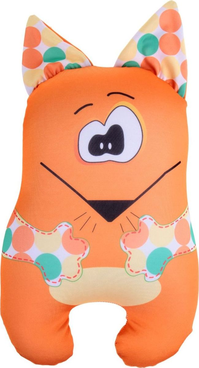 Sima-land Антистрессовая игрушка Лиса с ушами фонтант sima land летняя прохлада колодец