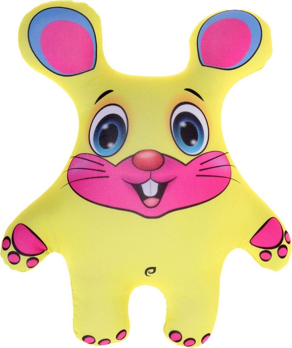 Sima-land Антистрессовая игрушка Мышь цвет желтый кармашки на стену для бани sima land для здоровья для души цвет желтый 3 шт