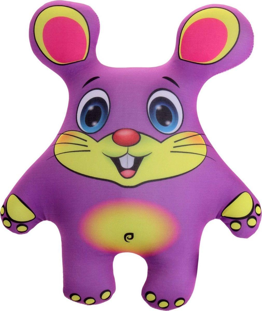 Sima-land Антистрессовая игрушка Мышь цвет фиолетовый sima land