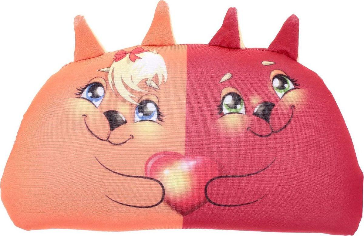 Мнушки Подушка-игрушка Лисята Обнимашки