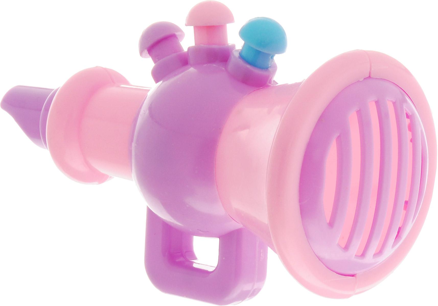 1TOY Труба цвет розовый сиреневый