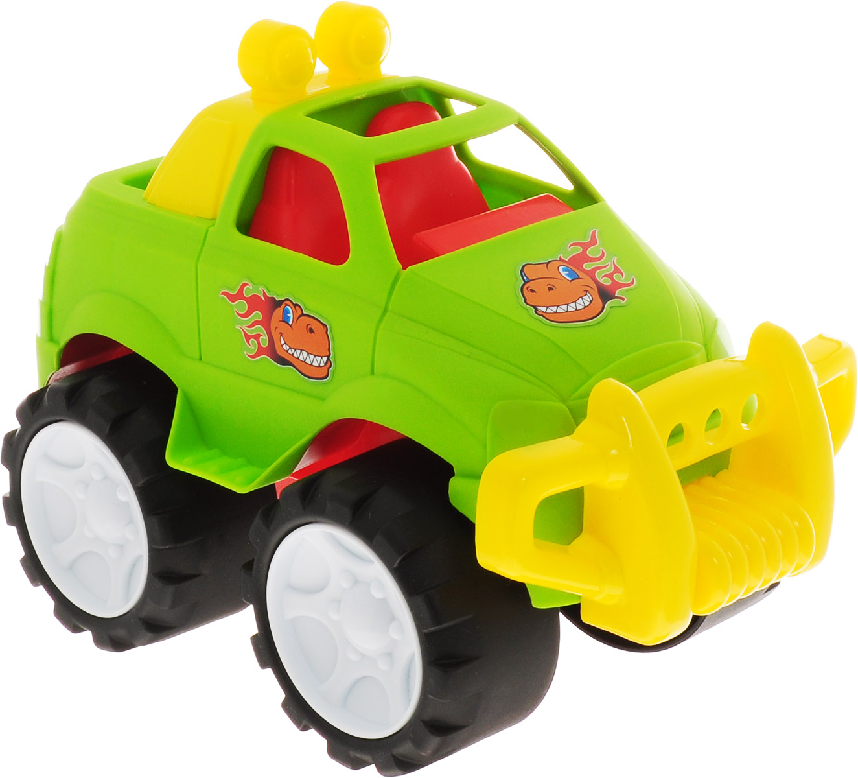 Keenway Машинка-игрушка Воротилы цвет салатовый самолеты и вертолеты globo игрушка машинка с водителем