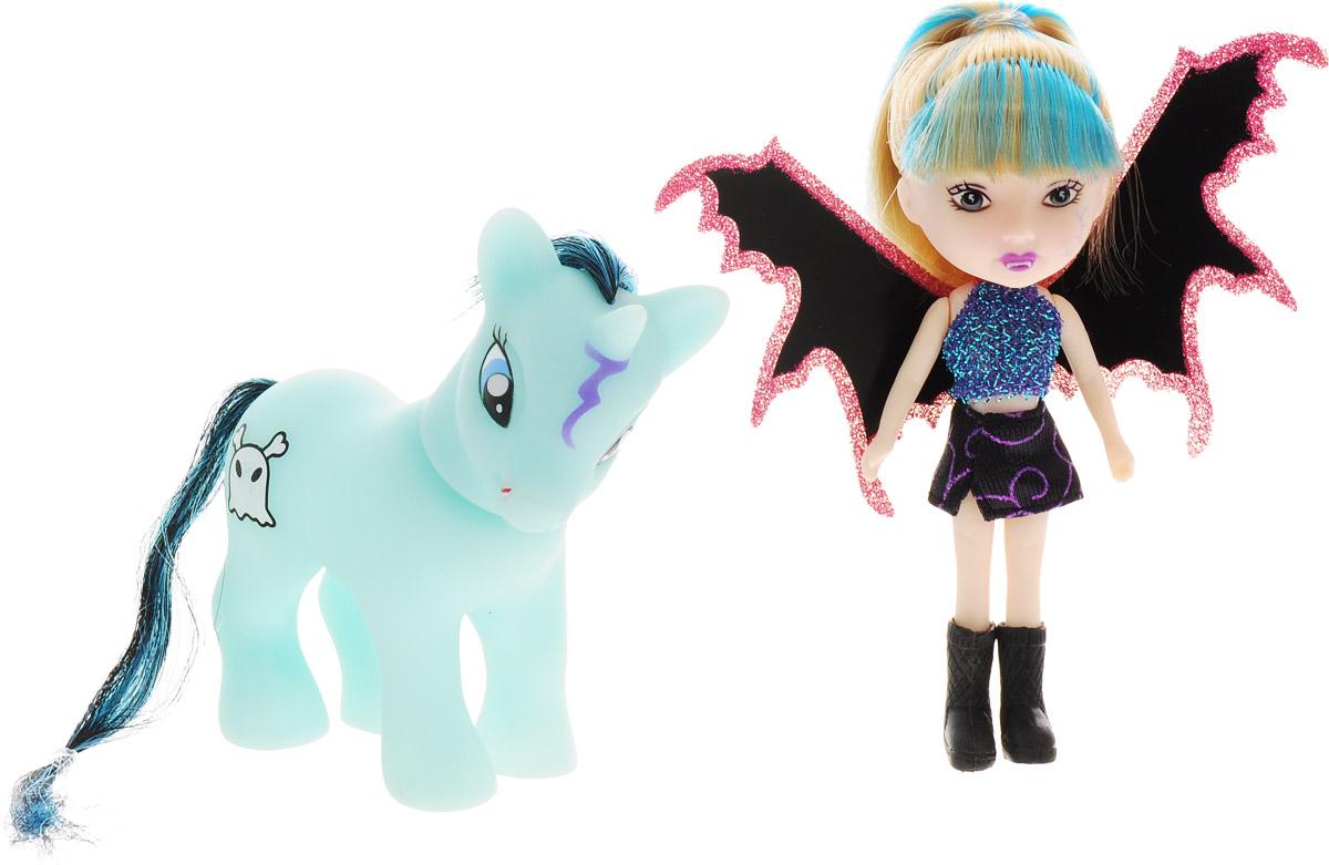 Veld-Co Игровой набор с мини-куклой Pony цвет черный розовый veld co игровой набор с куклой детский доктор