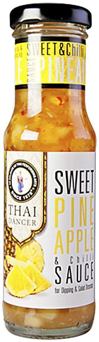 Thai Dancer Кисло-сладкий соус с ананасами и чили, 150 мл thai dancer соус с лимоном и перцем 150 мл