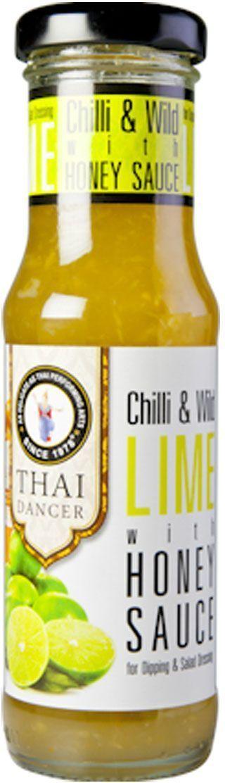 Thai Dancer Соус из дикого лайма и меда, 150 мл thai dancer соус с лимоном и перцем 150 мл