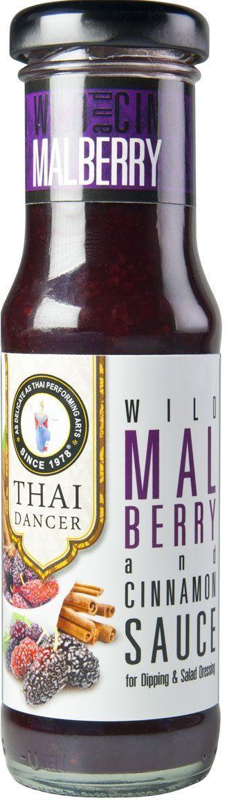Thai Dancer Десертный соус из шелковицы и корицы, 150 мл наушники philips shb3075bk 00 черный беспроводные полноразмерные с микрофоном черный 9 гц 21 кгц 103 дб до 12ч bluetooth micro usb