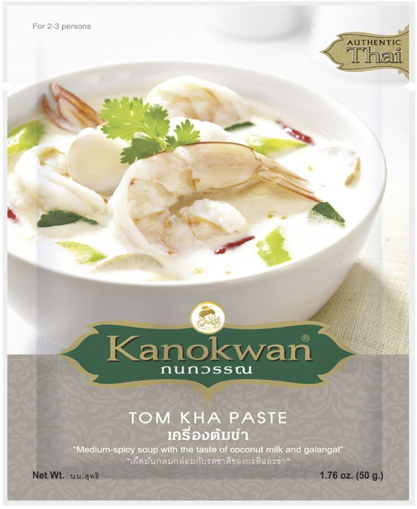 Kanokwan Паста для тайского кокосового супа том кха, 50 г
