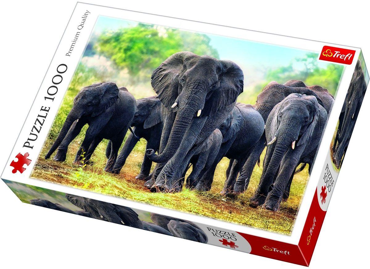 Trefl Пазл Африканские слоны